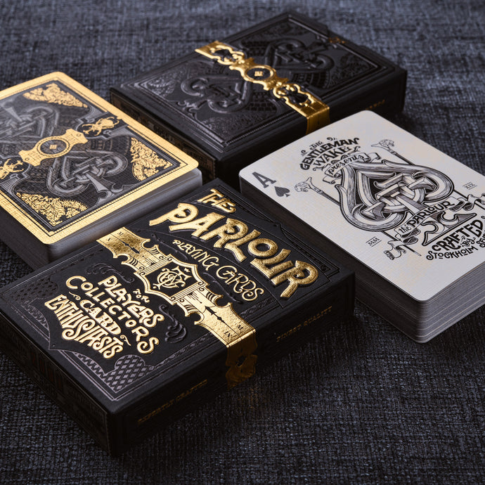 Parlour Playing Cards - Black