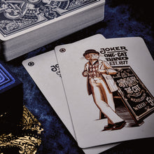 Load image into Gallery viewer, Parlour Playing Cards - Blue