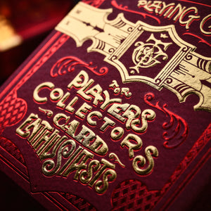 Parlour Playing Cards - Red