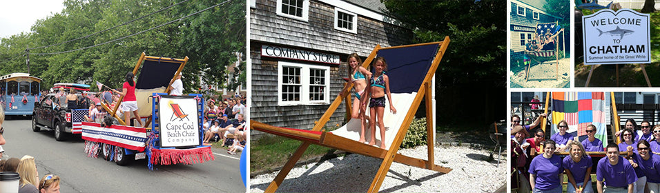 In Front Of The Cape Cod Beach Chair Store You Will Find What Is  Potentially The Biggest Beach Chair In The World.