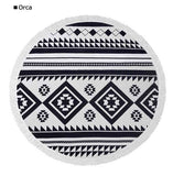 Vagabond Round Beach Towels