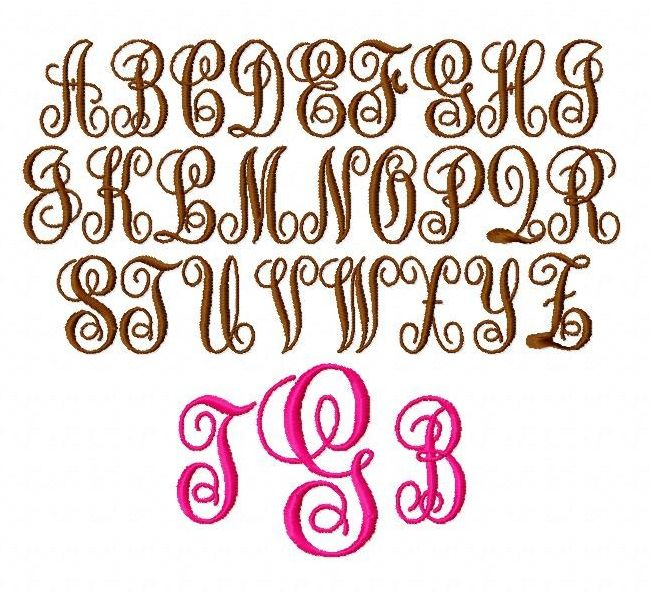 Fancy Monogram
