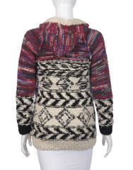 Isabel_Marant_pour_H_M_Cardigan_mehrfarbig_secondhand_seenbefore_back