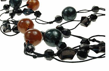 Fashion Long Beads Necklace,Womens Costume Jewellery Great Gift under £5