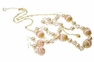 Fashionable long bead neckace, Perfect Costume Jewellery Gift under £10