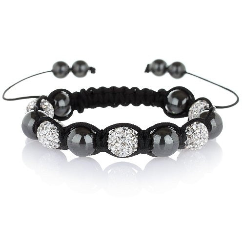 Shamballa Bracelets in 4 styles: Crystal Ball Tibetan Bracelets with Genuine Czech Crystals, in 4 styles. All crystal, Alternate, 3 crystal balls and Single Crystal Ball. WAS £49.99, Now £29.99