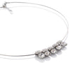 Stunning Choker Necklace w/ dangling Swarovski crystals! Limited edition Fabulous jewelry in multiple colour options. Great Gift