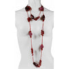 5 Stunning Beads & Ornaments Long Fashion Costume Jewellery Necklaces for Her. Each is completely different for a different mood & colour theme. Elegant, Fun, Crazy, Funky and a perfect novel Present idea, Each Packed in Janeo Organza Pouch