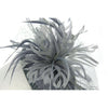 Large Feather Fascinator for weddings or the Ball, Profound & Ostentatious, with feathers and netting. It's a stunner of a hat! Two colour options.Our 'Craigowan' Fascinator.