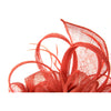 Headwear for Women, Occasion Fascinator Beautifully Sculptured with Subtle Goose Tail feathers. It's a sheer delightful style! Perfect for weddings or Cocktail Parties. Great Value. 2 colour options.