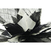 Beautifully Crafted Occasion Hats for Women, Floral Feather Bows Fascinator in a classic Black and White colour combo, with stylish Quills dominating the curvature design. For weddings or the Races or that special Garden Party.