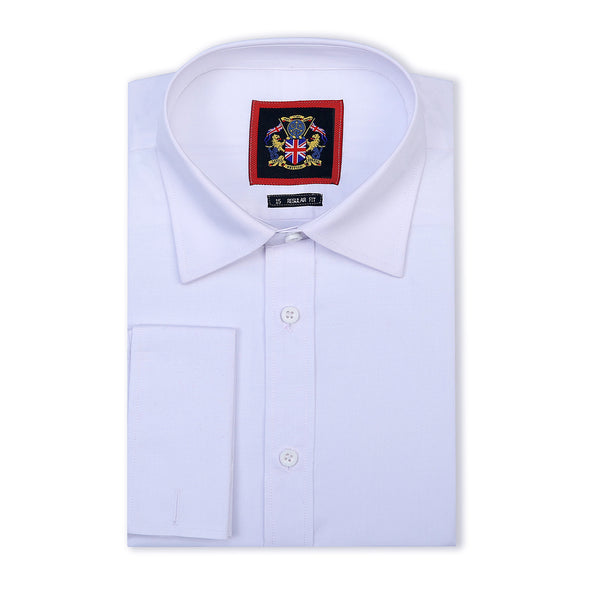 10505 london shirt in white- double