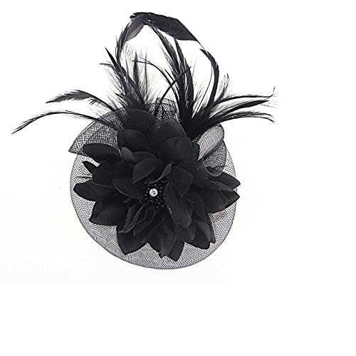 Small Occasion Wedding Hair Pieces or Corsage Flower Fascinator for Women. Beautiful, Non-Fussy and Statement Accessory, Great Price for a Mini Hair Fascinator!