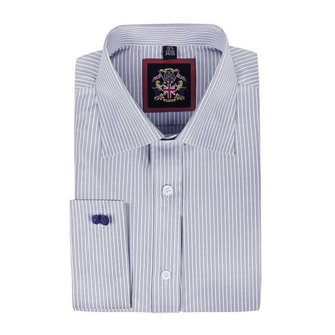 'The CLASSIC WINDSOR FORMAL SHIRTS' Fine Stripe Formal & Oxford Button Down Casual Shirt, Single & Double Cuff Sleeve. Quality Tailor Made Style, Easy Care Fabric, Office Wear & Special Occasion