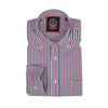 'THE WINCHESTER OXFORD CHECK SHIRTS' Long Sleeve Shirt Janeo British Apparel, Mens Casual Fit Oxford Checks Button Down Collar, Fine Detailing. Worn With Ties