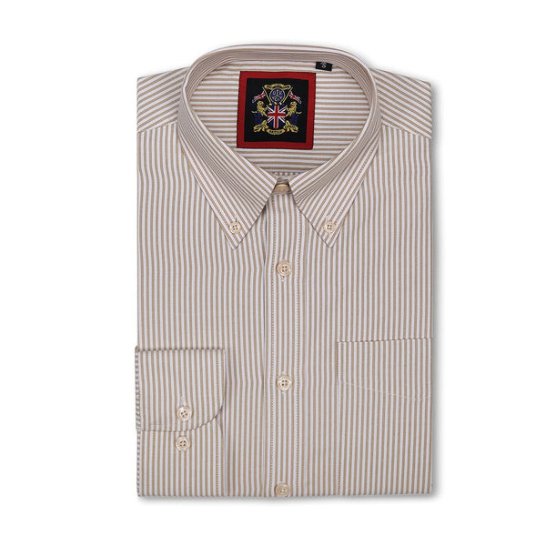 'The WINDSOR OXFORD CASUAL SHIRTS' The New Windsor Oxford Button Down Casual Long Sleeve Shirt, Chest Pocket, Small-XXXL, Easy Care Fabric. Formal or Casual. Five Fashion Office Colours
