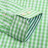 'The PAPPLEWICK TWIN SHIRTS' Two Long Sleeve Mens Shirts, Twin Pack Of Striped & Check Design, Same Colour Hue, Janeo British Apparel, Button Down Collar & Pocket, Oxford Style Fit. Work,Smart Weekender or Causal.