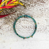 'Bloom' Green Bracelet