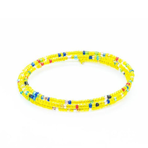'Bloom' Yellow Bracelet