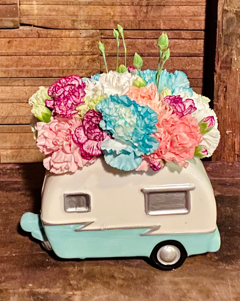 Whimsical Retro Camper Bouquet