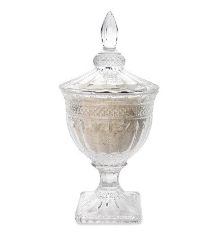 Aurielle Crystal Urn with Tryst Bath Salts