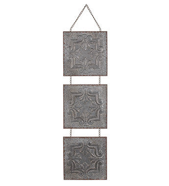 3 Tile Hanging Wall Plaque