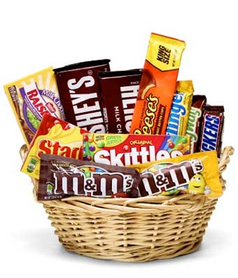 Sweet Treat Candy Basket
