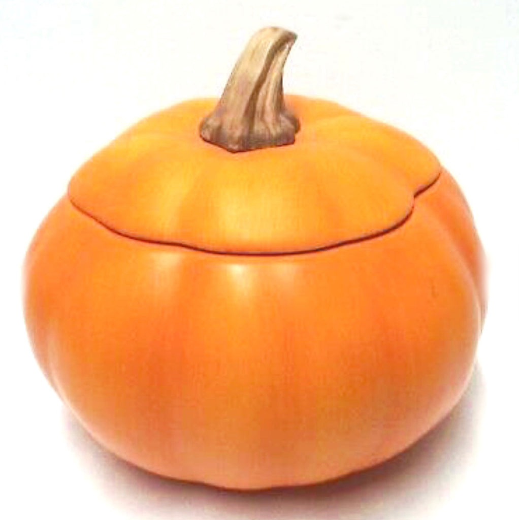 Ceramic Matte Pumpkin Candy Dish