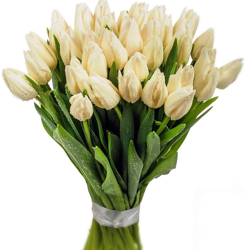 Hand Tied Tulip Bouquet