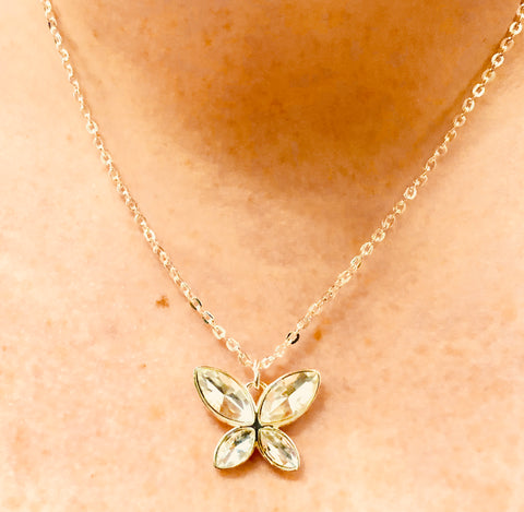 Butterfly Pendant Neckless