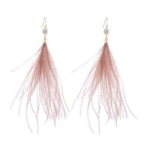 Light Feather Earring