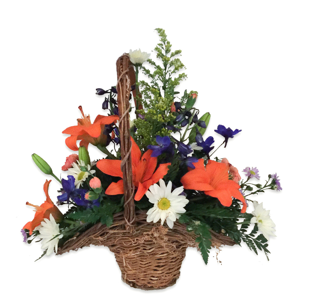 Fields of the Great Smoky Mountains Basket