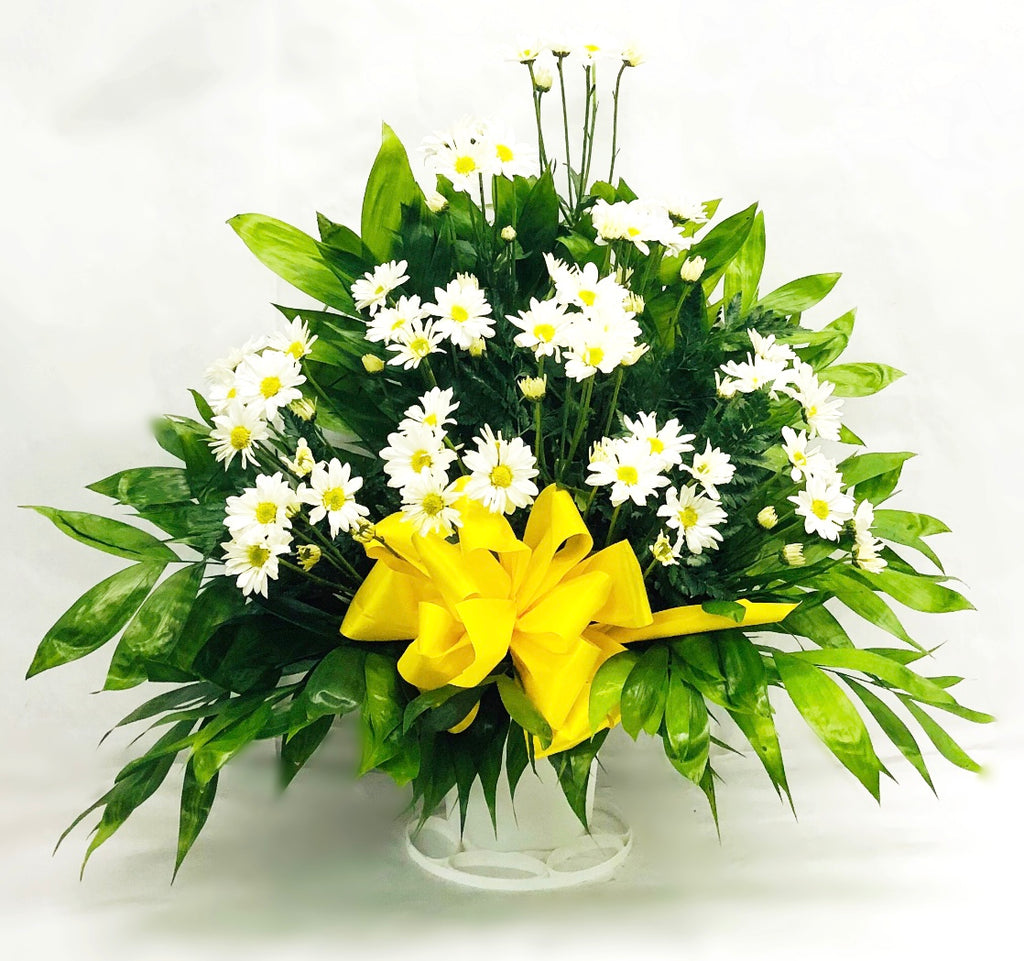 Daisy Traditional Floor Basket