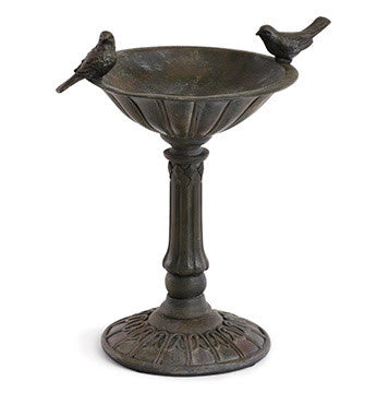 Pedestal 2 bird, bird feeder/bath