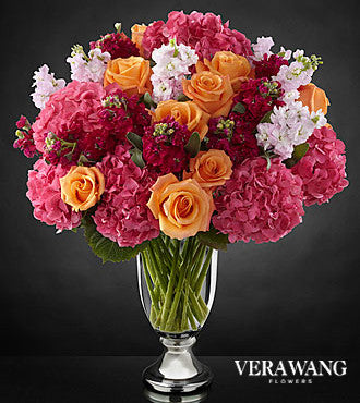 Astonishing Luxury Mixed Bouquets by Vera Wang