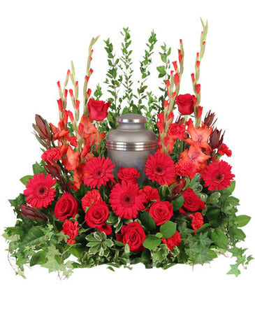 Adoration Cremation Urn Arrangement