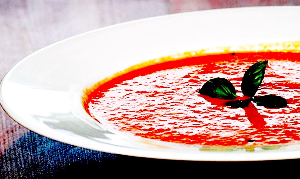 Food 24 tomato basil soup