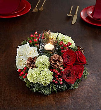 Very Merry Modern Centerpiece