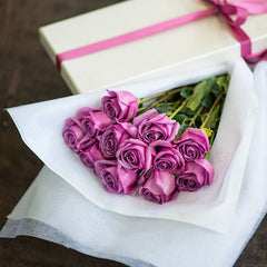 Elegant Boxed Dozen rose