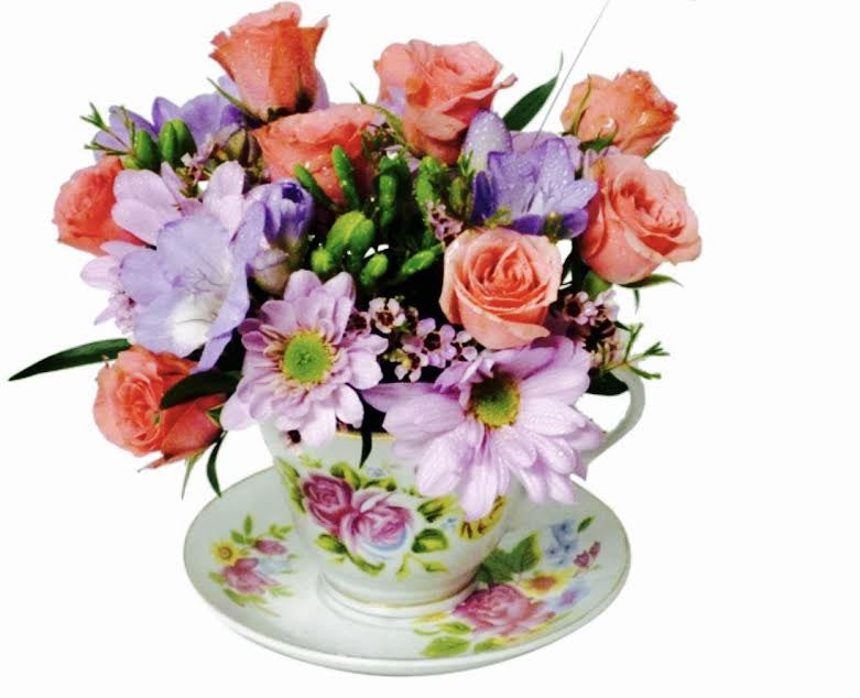 Teacup Time Bouquet