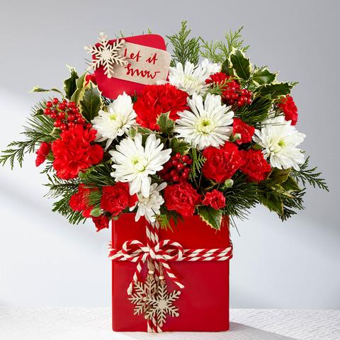 The Holiday Cheer Bouquet