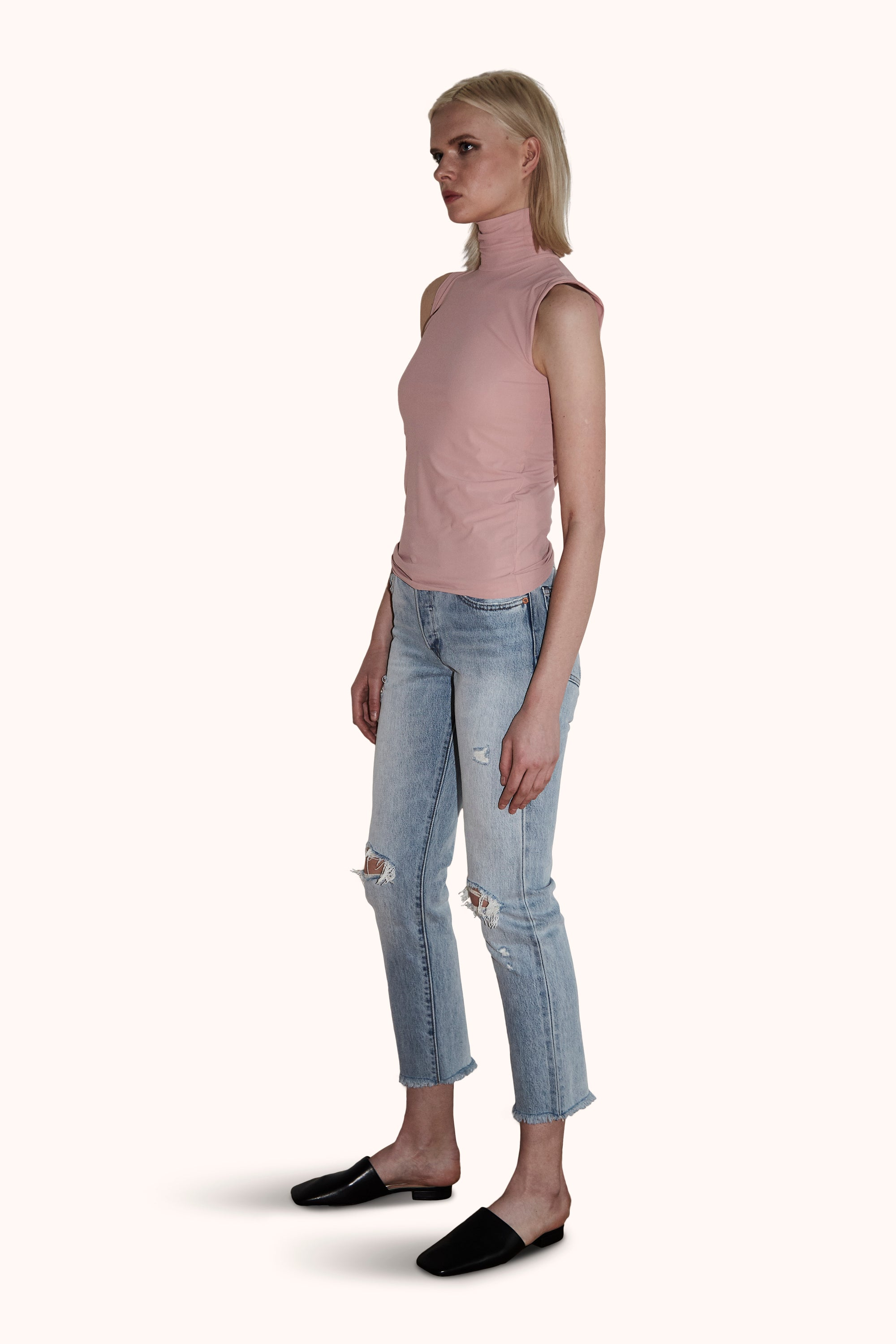 Nora Top in Modern Pink