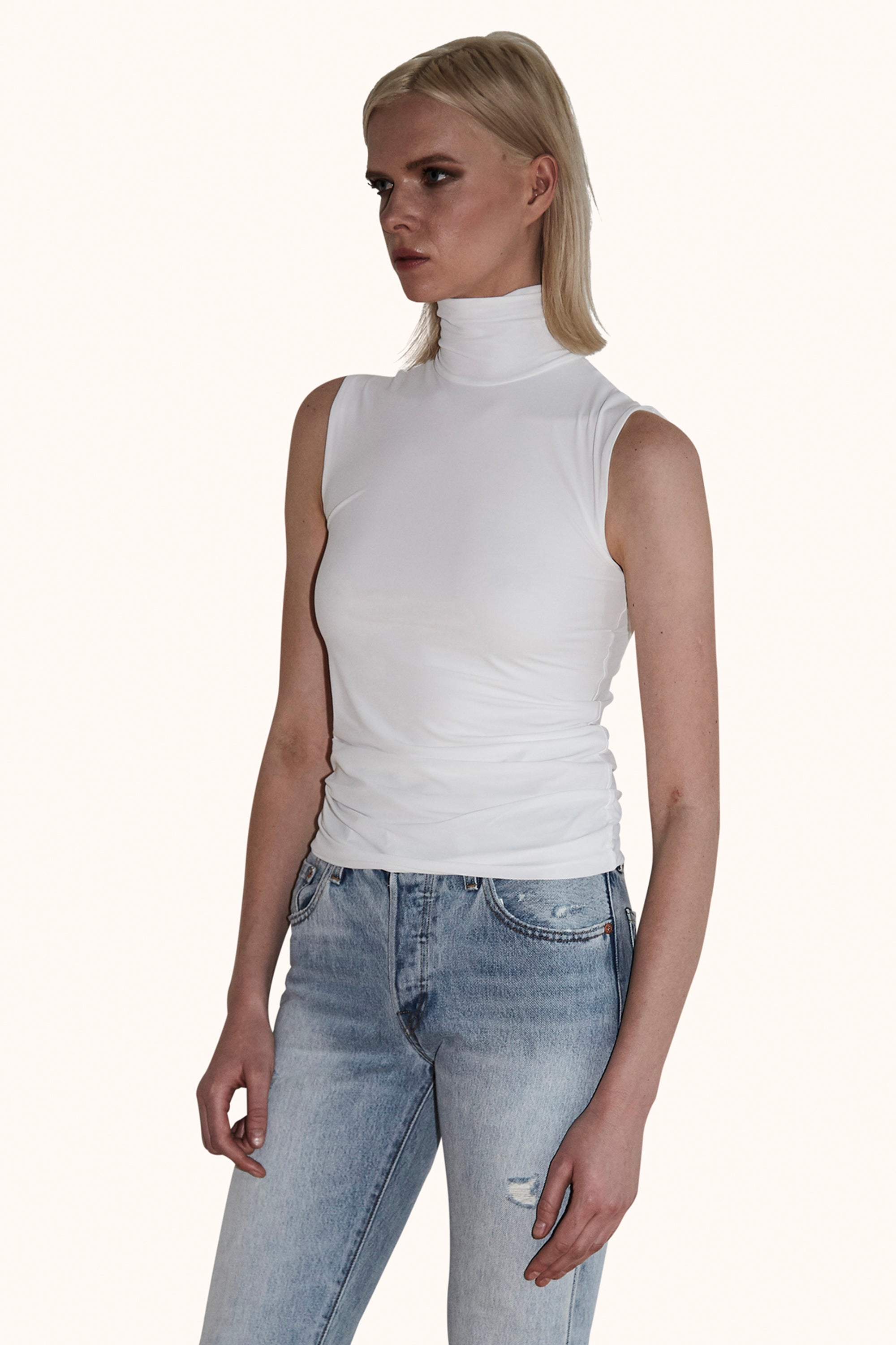 Nora Top in White