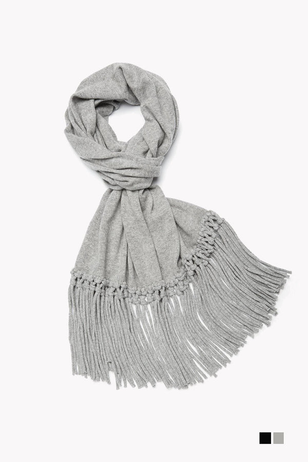 Unisex Knotted Scarf