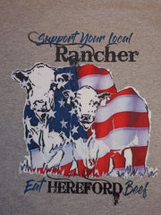 Hereford Local Support Tee - Rancher