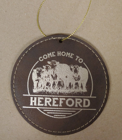 Hereford Ornament