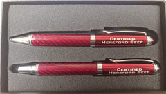 Certified Hereford Beef Pen Gift Set