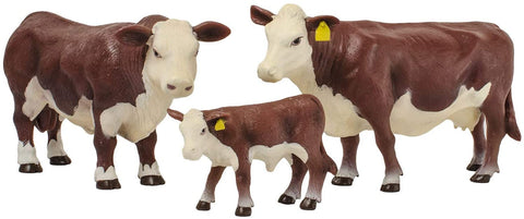 Hereford Family Toy Set