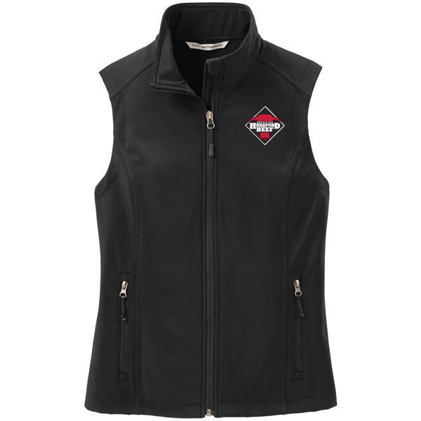 Certified Hereford Beef Ladies Soft Shell Vest