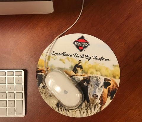 Certified Hereford Beef Mousepad